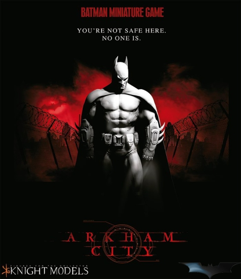 Cartel de Batman Miniature Game