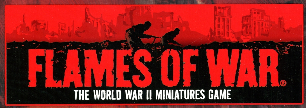 Logotipo del wargame Flames of War