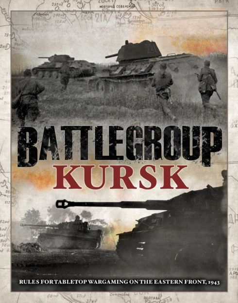 Portada del reglamento de Plastic Soldiers: Battlegroup Kursk. WWII