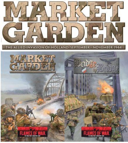 Libro de inteligencia Market Garden de Flames of War