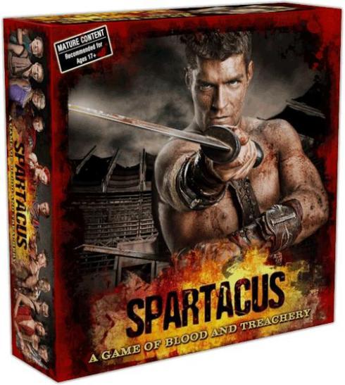 Caja del juego Spartacus: Sangre y Traición