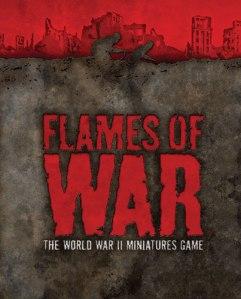 Portada del reglamento de Flames of War v3