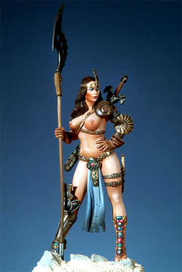 Sheena, figura amazona de Pegaso Models