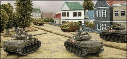 Escena de batalla Market Garden FoW