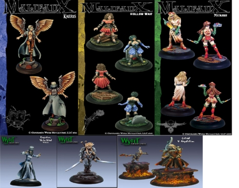 Miniaturas femeninas de Wyr Miniatures