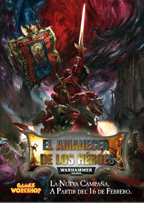 Cartel de la Campaña El Amanecer de los Héroes