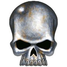 Cráneo de hierro de Warhammer 40k