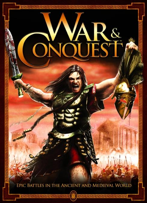 Portada del reglamento de batallas históricas War & Conquest