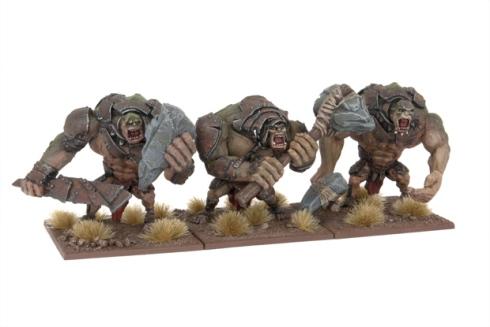 Nuevas figuras de Trolls de Kings of War