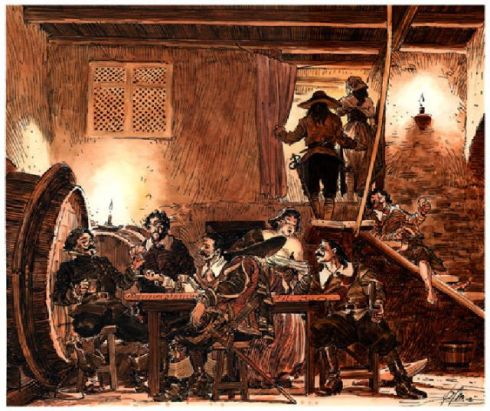 jugadores-de-cartas 3-siglo-xvii