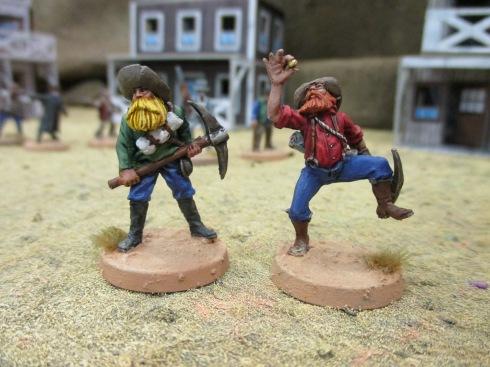 Mineros fiebre del oro