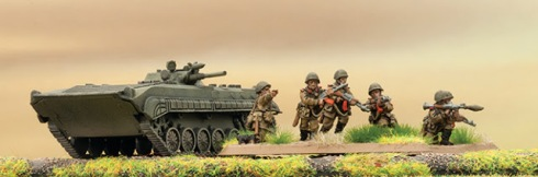 Soviet infantry team yankee