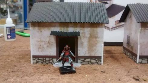Casa con samurai