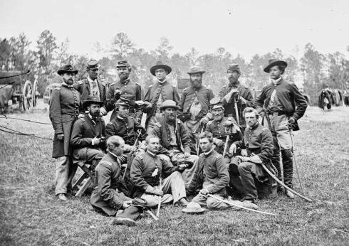Dixies Guerra Civil Estadounidense - Campo Soldados Confederados