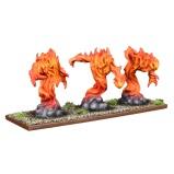 Elementales de Fuego. Salamandras